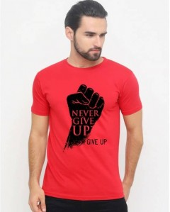 BASIC COLLECTION Mens T-Shirt (RED) (S - M - L - XL)
