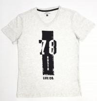BSIC COLLECTION Mens T-Shirt (GRAY) (S - M - L - XL)
