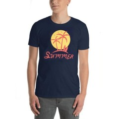 BASIC COLLECTION Mens T-Shirt (NAVY) (S - M - L - XL)