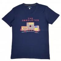 BASIC COLLECTION Mens T-Shirt (NAVY) (S - M - L - XL)