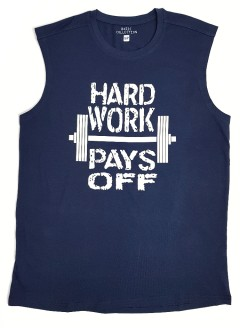 BASIC COLLECTION Mens Top (NAVY) (S - M - L - XL)