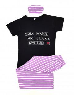 Ladies 3 Pcs Turkey Pyjama Set