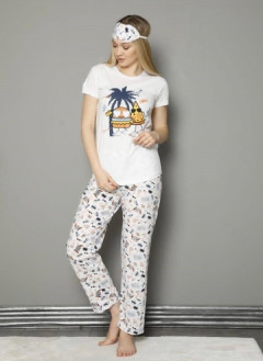 Ladies Turkey 3 Pcs Turkey Pyjama Set